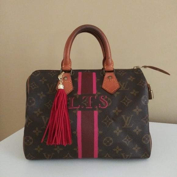 a537764348e Louis Vuitton Bags   Vintage Speedy 25 Pink Monogram   Poshmark